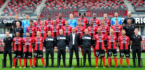 Photo officielle EA Guingamp - Saison 2017-2018