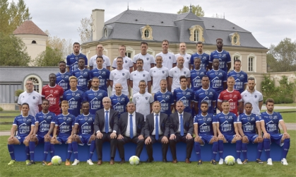 Photo officielle ESTAC Troyes - Saison 2017-2018