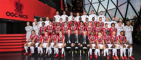 Photo officielle OGC Nice - Saison 2017-2018