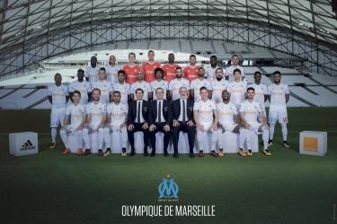 Maillot domicile Olympique de Marseille - 2017-2018