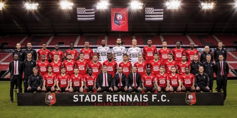 Photo officielle Stade Rennais - Saison 2017-2018