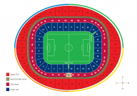 Plan Emirates Stadium