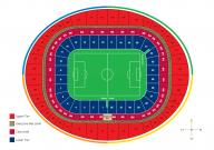 Plan Emirates Stadium