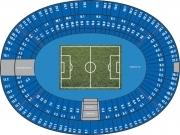 Plan Stade olympique de Berlin