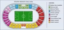 Plan Stadio Renato Dall'Ara