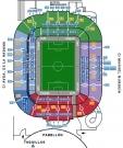 Plan Stade du Riazor