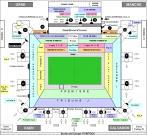 Plan Stade Michel-d'Ornano