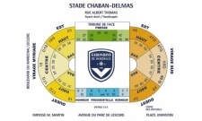 Plan Stade Jacques Chaban-Delmas