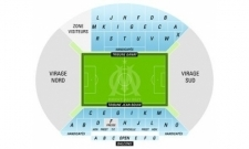 Plan Stade Vélodrome
