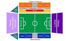 Plan Stade Yves Allainmat - Le Moustoir