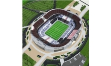 Plan Groupama Stadium
