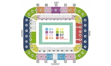 Plan Stade Matmut-Atlantique