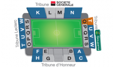 Plan Stade de l'Abbé Deschamps