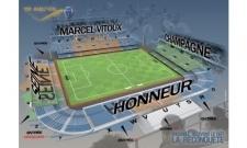 Plan Stade de l'Aube