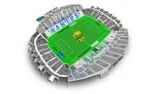 Plan Stade de La Beaujoire - Louis Fonteneau