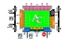 Plan Stade de la Licorne