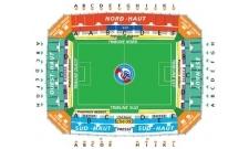Plan Stade de la Meinau