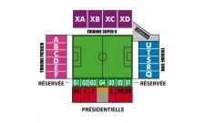 Plan Stade de Roudourou