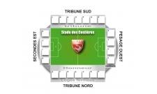 Plan Stade des Costières