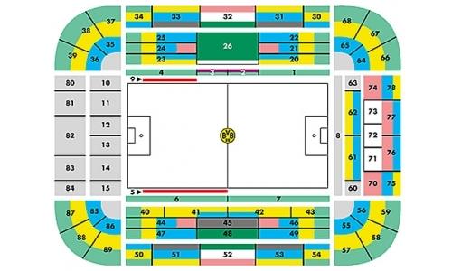 Plan Signal Iduna Park