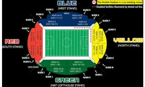 Plan Reebok Stadium