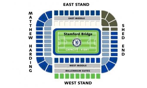 Plan Stamford Bridge