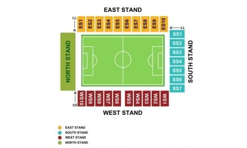 Plan DW Stadium