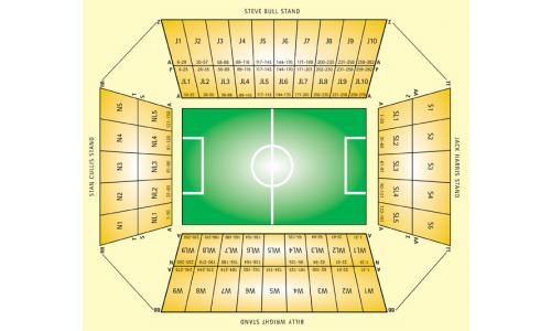 Plan Molineux Stadium