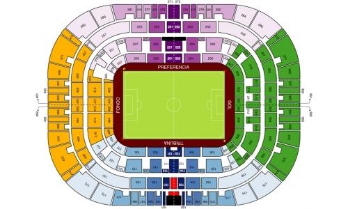 Plan Stade La Rosaleda
