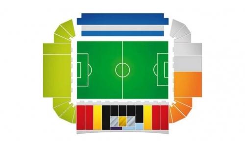 Plan Stade Ennio Tardini