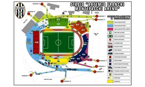 Plan Stadio Artemio Franchi - Montepaschi Arena