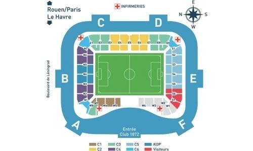 Plan Stade Océane