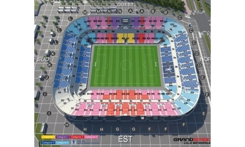 Plan Stade Pierre-Mauroy