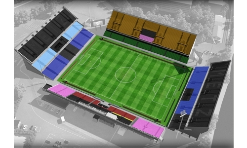 Plan Stade Saint-Symphorien